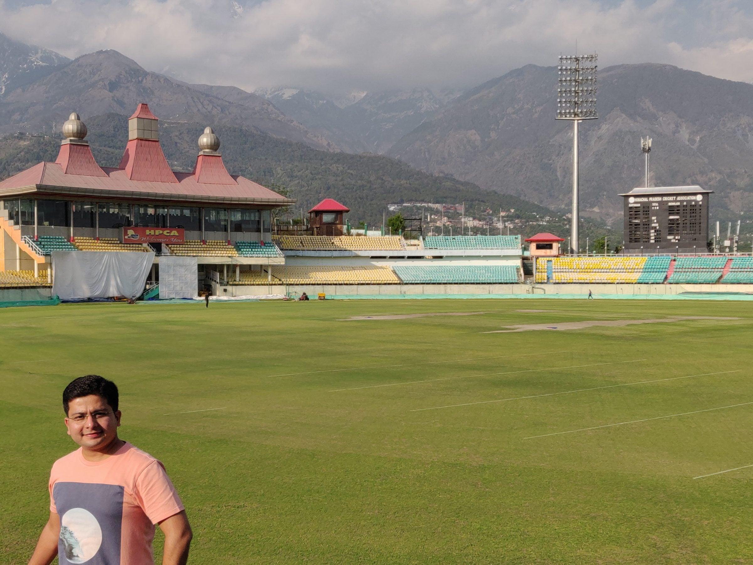 Dharamshala Stadium, HPCA