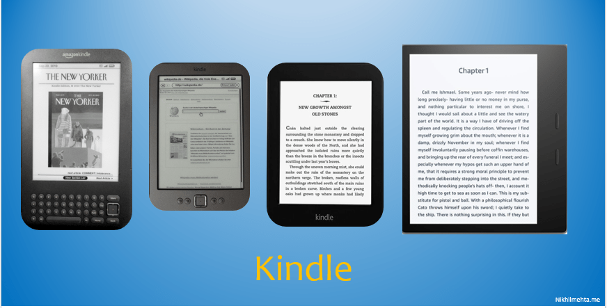 How Kindles iteration process helped product growth