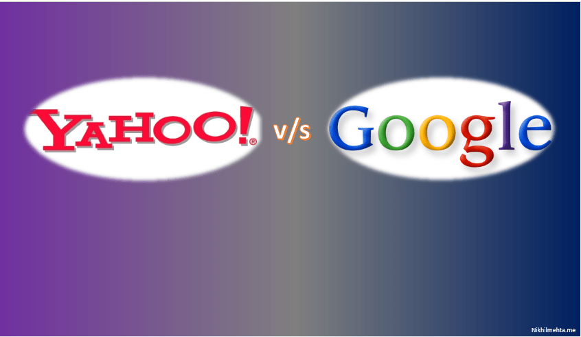 Google v/s Yahoo
